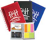 Spiral Notebooks With Sticky Notes